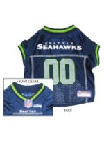 Seattle Seahawks Dog Mesh Jersey