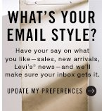 What's your email style? Update my preferences