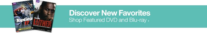 Discover New Favorites - Shop Featured DVD and Blu-ray