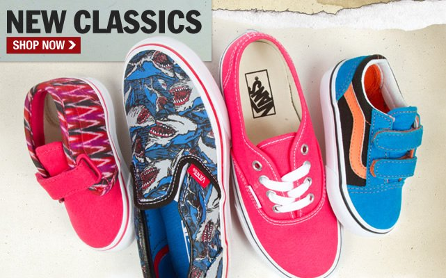 Shop Classic Vans Styles in New Colors