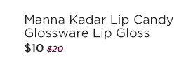 Manna Kadar Lip Candy Glossware Lip Gloss