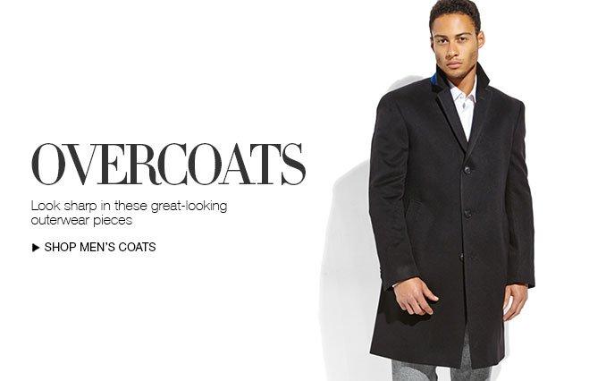 Shop Overcoats for Men