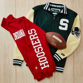 For the Guys: NCAA Apparel & Accents