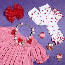 Little Valentines: Apparel & Accents