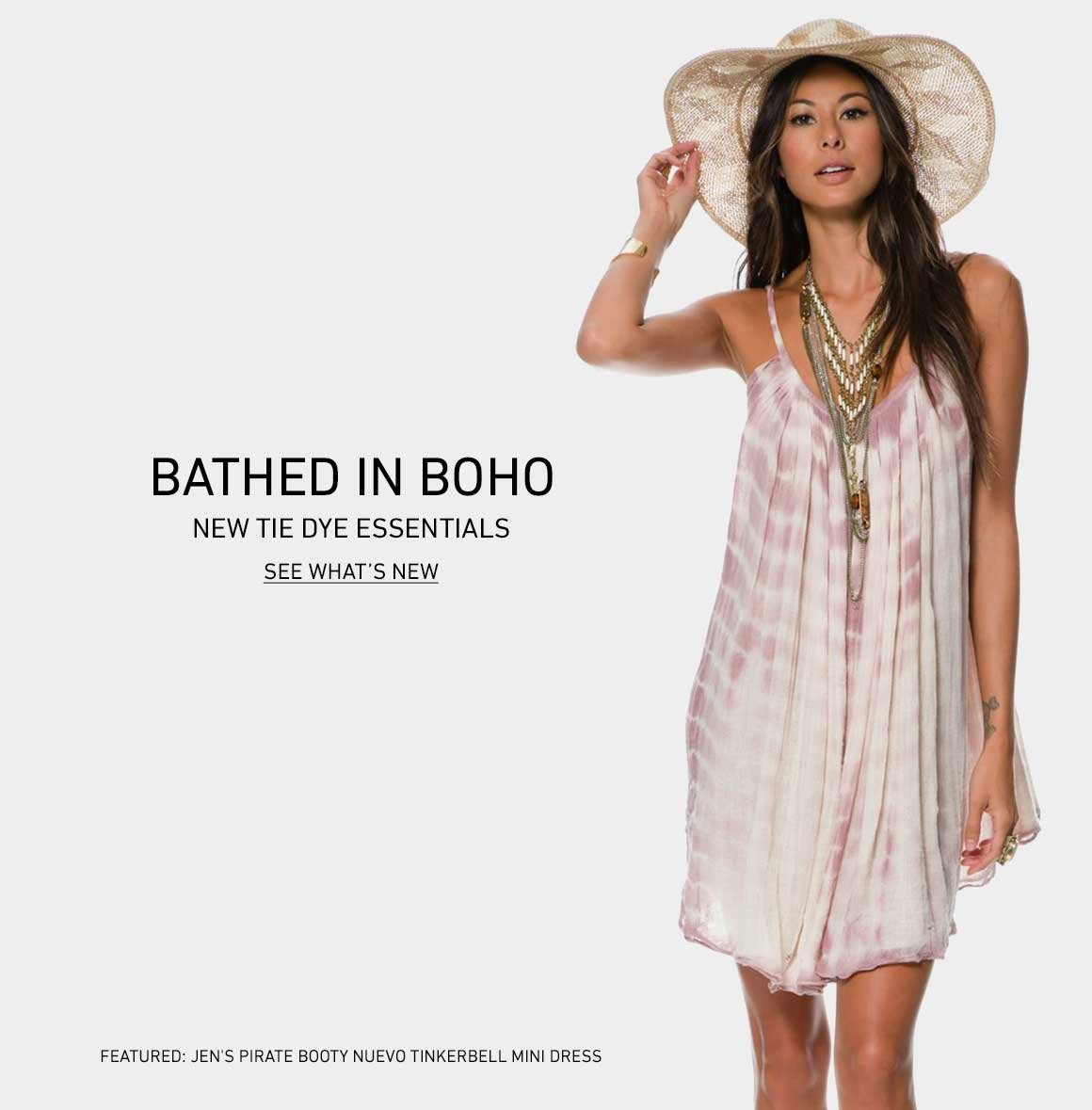 Bathed In Boho: Shop New Tie Dye Essentials