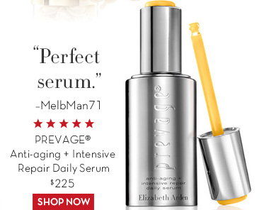 """Perfect serum."" -MelbMan71. PREVAGE® Anti-aging + Intensive Repair Daily Serum $225. SHOP NOW."