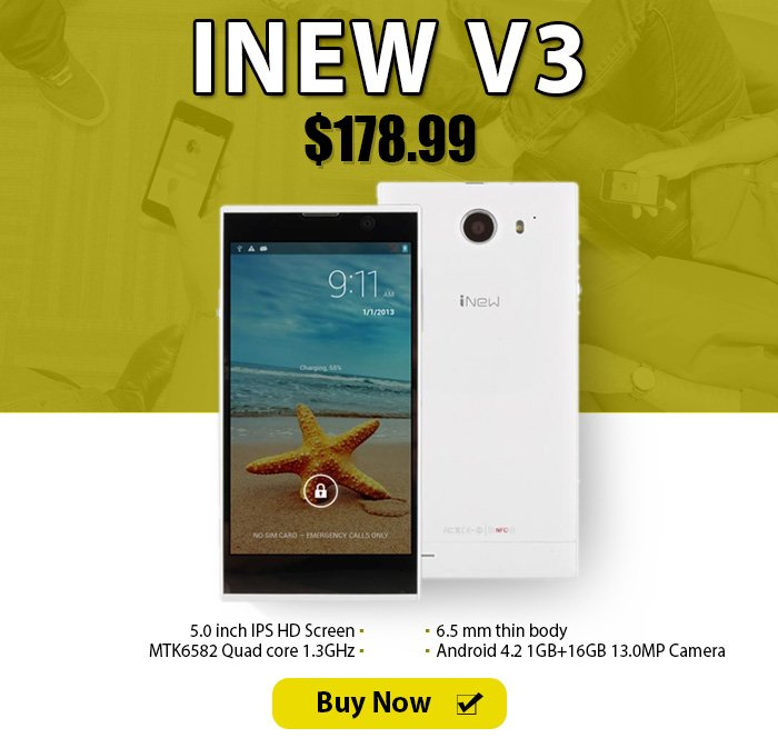 bag borrow or steal the best phone inew v3 quad core smartphone