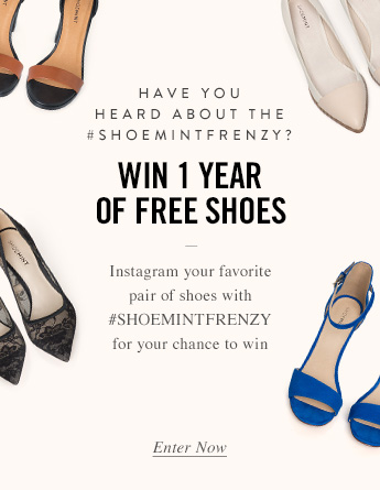 Win 1 Year of Free Shoes