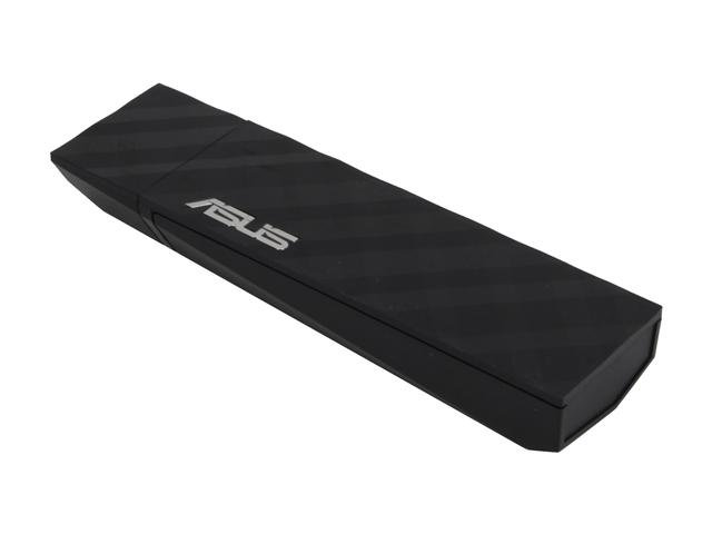 ASUS USB-N53 Dual Band (2.4GHz 300Mbps/5GHz 300Mbps) Wireless-N USB Adapter, Graphical Easy Interface, Live Signal Monitor