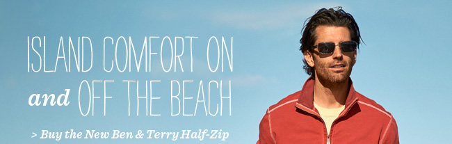 Buy the New Ben & Terry Half-Zip