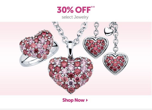 Up to 30% OFF** select Diamonds, Gemstones & Pearls - Shop Now