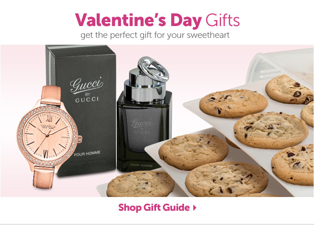 Valentine's Day Gifts - get the perfect gift for your sweetheart - Shop Gift Guide