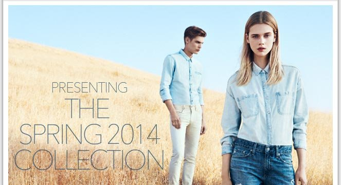 AG Presents Spring 2014 | See The New Collection In Motion Now