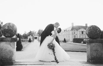 Vera Wang Real Wedding France