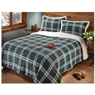 CastleCreek® Plaid Sherpa Comforter Set