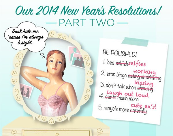 Our resolution solution!