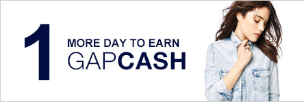 1 MORE DAY TO EARN GAPCASH