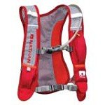 Nathan 5003NOD Minimist Hydration Race Vest, Tango Red & Tangerine