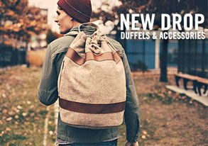 Shop Travel Essentials: Duffels & More