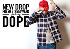 Shop NEW DROP: Fresh Streetwear ft. DOPE