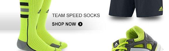 Shop Team Speed Socks »