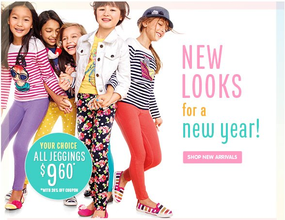 New Looks For A New Year!