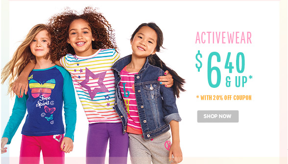 Activewear $6.40 & Up!!