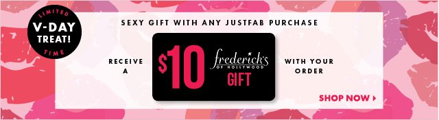 Sexy Gift with Any JustFab Purchase - Shop Now!