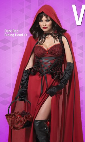 Shop Dark Red Riding Hood