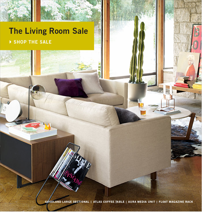 The Living Room Sale SHOP THE SALE