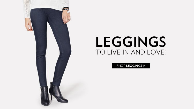 Leggings to live in and love!
