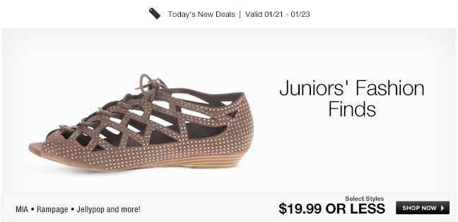 Juniors Fashion Finds