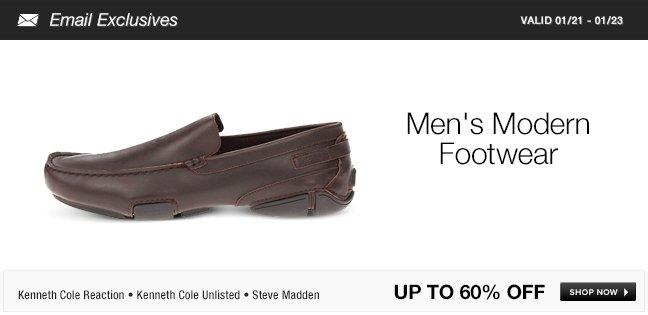 Mens Modern Footwear