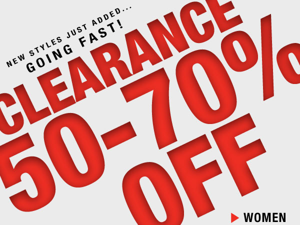 Shop Now: Clearance 50-70% off For Her