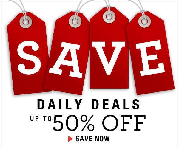 Shop Daily Deals at up to 50% off