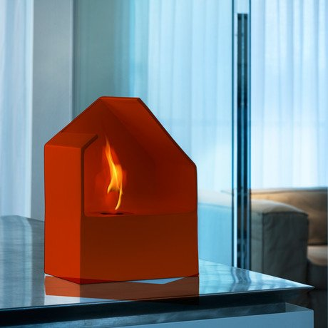Homu Mini Bio-Fireplace // Red