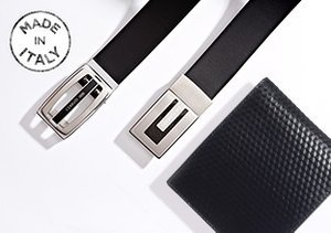 Made in Italy: Belts & Wallets