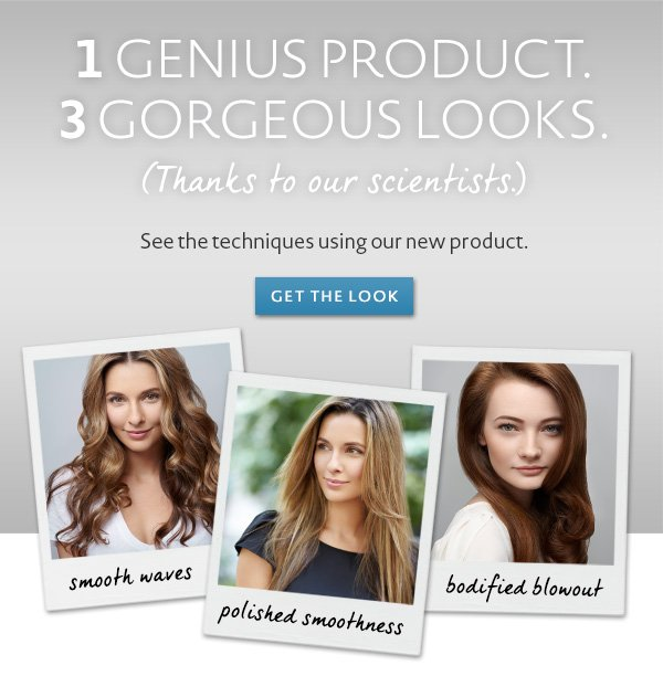 Three great looks using our newest product