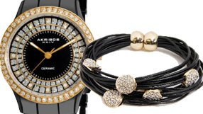 Black Watches and Jewelry
