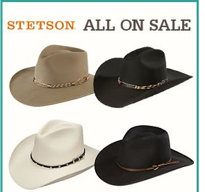 All Stetson on Sale