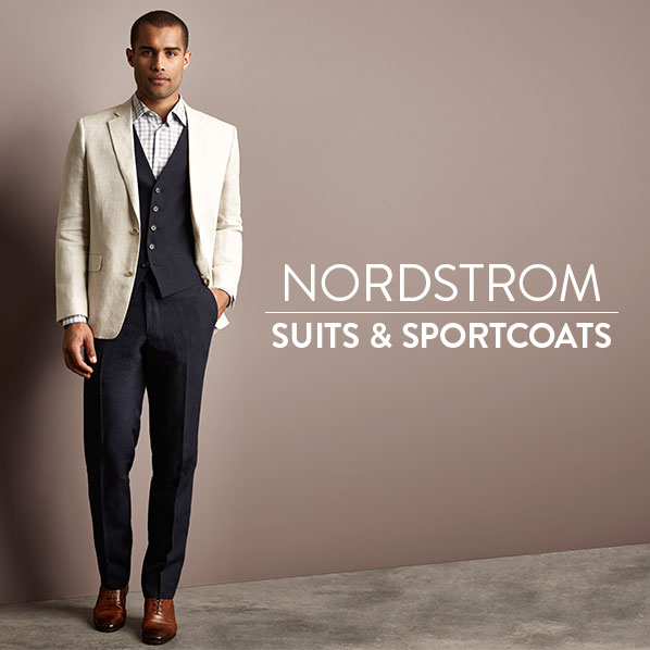NORDSTROM - SUITS & SPORTCOATS