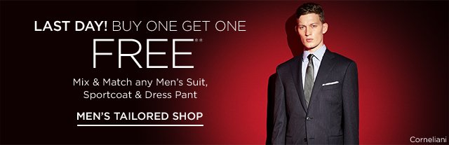 Buy One Get One Free Men's Suits