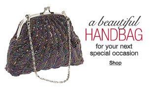 a beautiful handbag