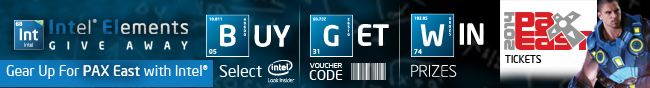 Gear Up For PAX East With Intel.
