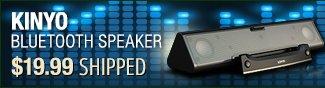 Newegg Flash - Kinyo Bluetooth Speaker.