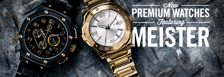 Shop NEW: Premium Watches ft. Meister