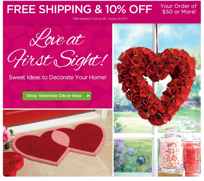 Savings You'll Love: FREE Shipping & 10% OFF!