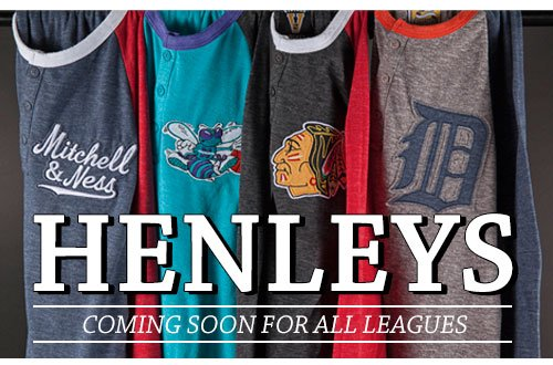 Henleys - Coming Soon for All Leagues