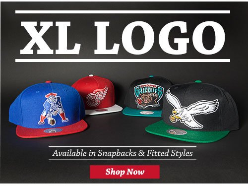 XL Logo - Available in Snapbacks & Fitted Styles - Shop Now