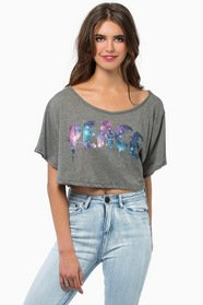 One Peace Crop Top